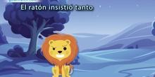 Fábula - El león y el ratón