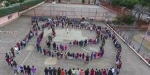"""Día de la Paz 17 CEIP Amadeo Vives """"La paz está en tus manos"""" (1)"""