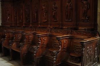 Sillería de la Catedral de Huesca