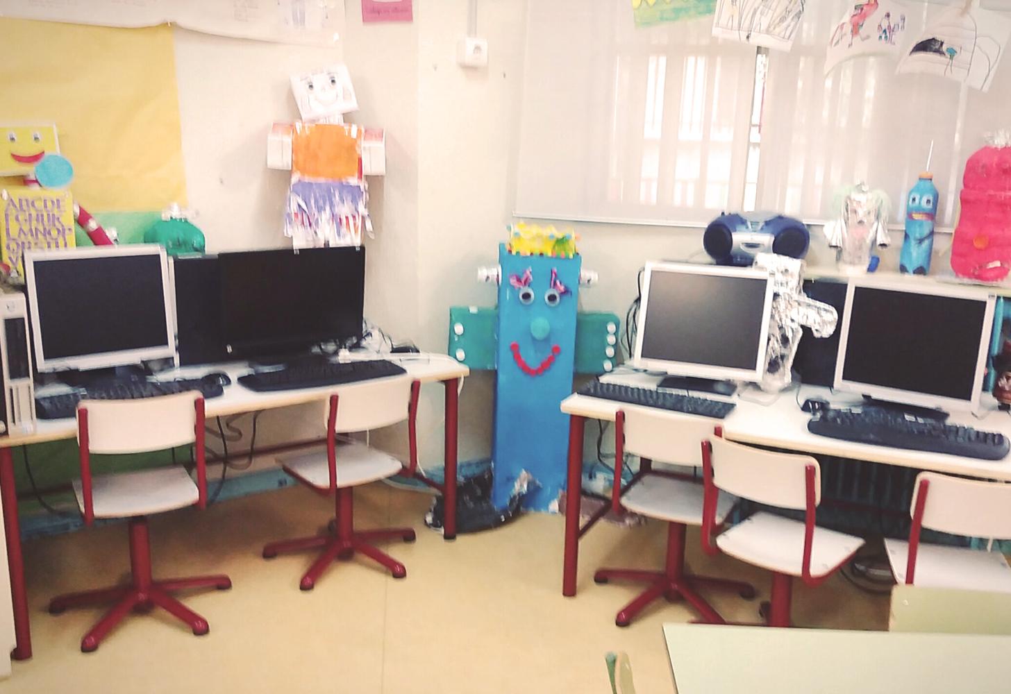 Rincón de robótica en educación infantil