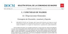 Decreto 58/2016 de 7 de junio