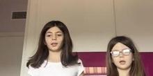 Lucía 4º y Noelia 1º