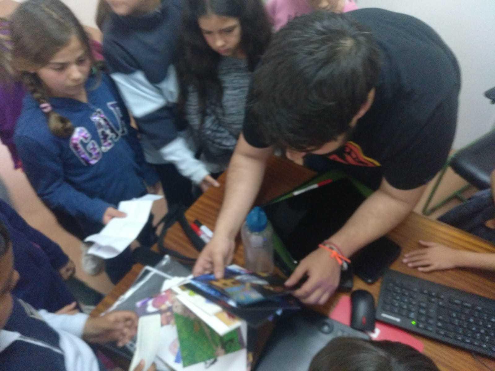 2019_04_24_Día del Libro 4º_Encuentro con Autor_CEIP FDLR_Las Rozas  1