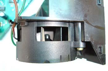 Turbina de aire para el sensor de temperatura interior