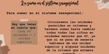 PRIMARIA-6º- MATEMÁTICAS- LA SUMA EN EL SISTEMA SEXAGESIMAL- FORMACIÓN