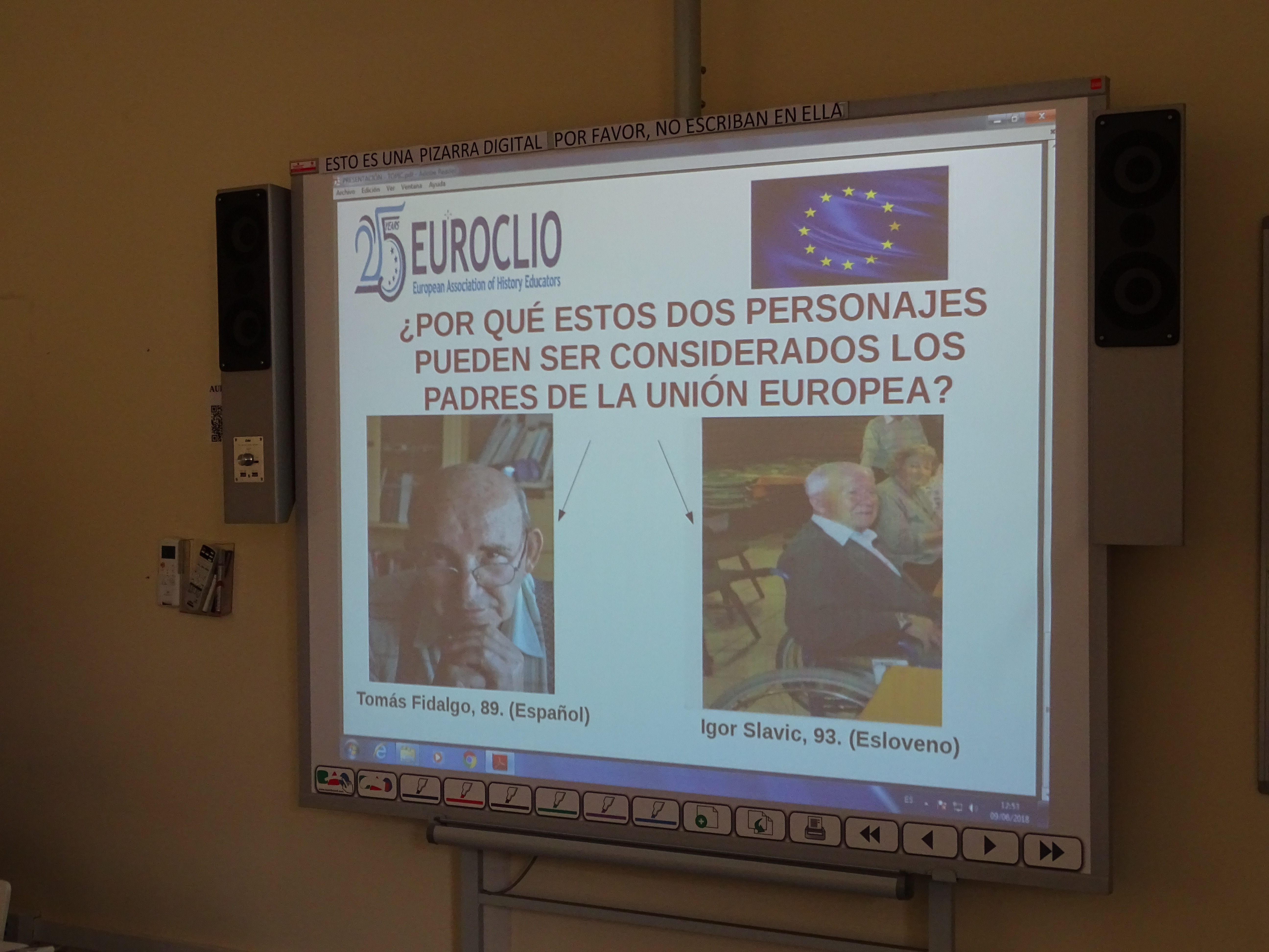Nuevas metodologías para la enseñanza de Europa: ¡Esto no va de tratados! 9 Junio 2018. Marino Maqueda 1