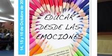 """Presentación de los alumnos del CRA Los Olivos en las Jornadas """"Educar las Emociones"""""""
