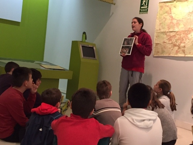 Centro de Interpretación de la Naturaleza. Montecarmelo. 6º curso. 9