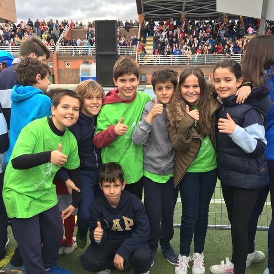 2018-04-09_Olimpiadas Escolares_CEIP FDLR_Las Rozas_Desfile 5