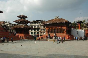 Plaza del Palacio de los Reyes Malla, Katmandú, Nepal