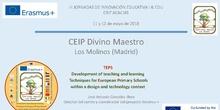 Presentación CEIP Divino Maestro, Los Molinos