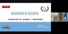 Bachillerato de Excelencia IES Villa de Valdemoro. Valoraciones de alumnos y profesores