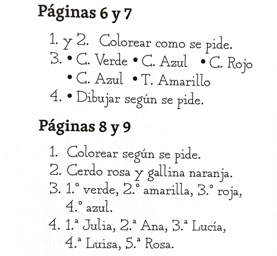 RAZONAMIENTO corrección páginas 6 a 9