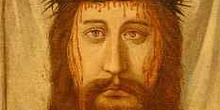 Pintura con la imágen de Jesucristo