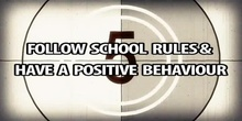 School rules and positive behaviour