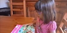 """Natalie (Primary 1)  reads the book """"Silly Squirrel"""""""