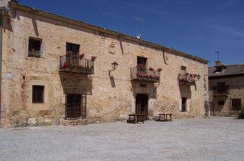 Casa típica de Pedraza, Segovia, Castilla y León