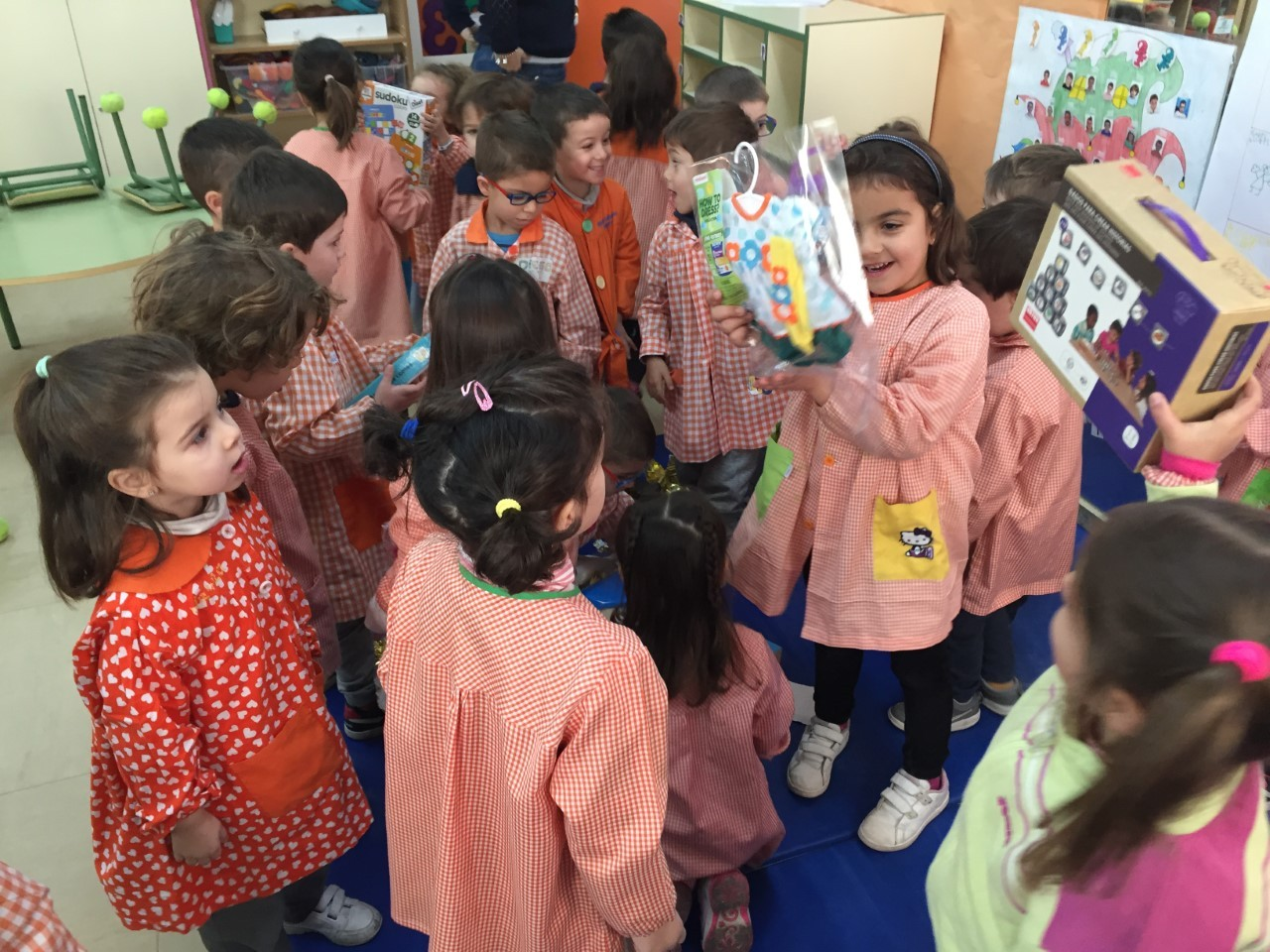 Visita Reyes aula 7