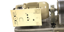 Generador de corriente continua con excitación serie