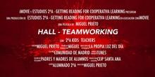 Trabajo en equipo - Hall CEIP Santa Ana