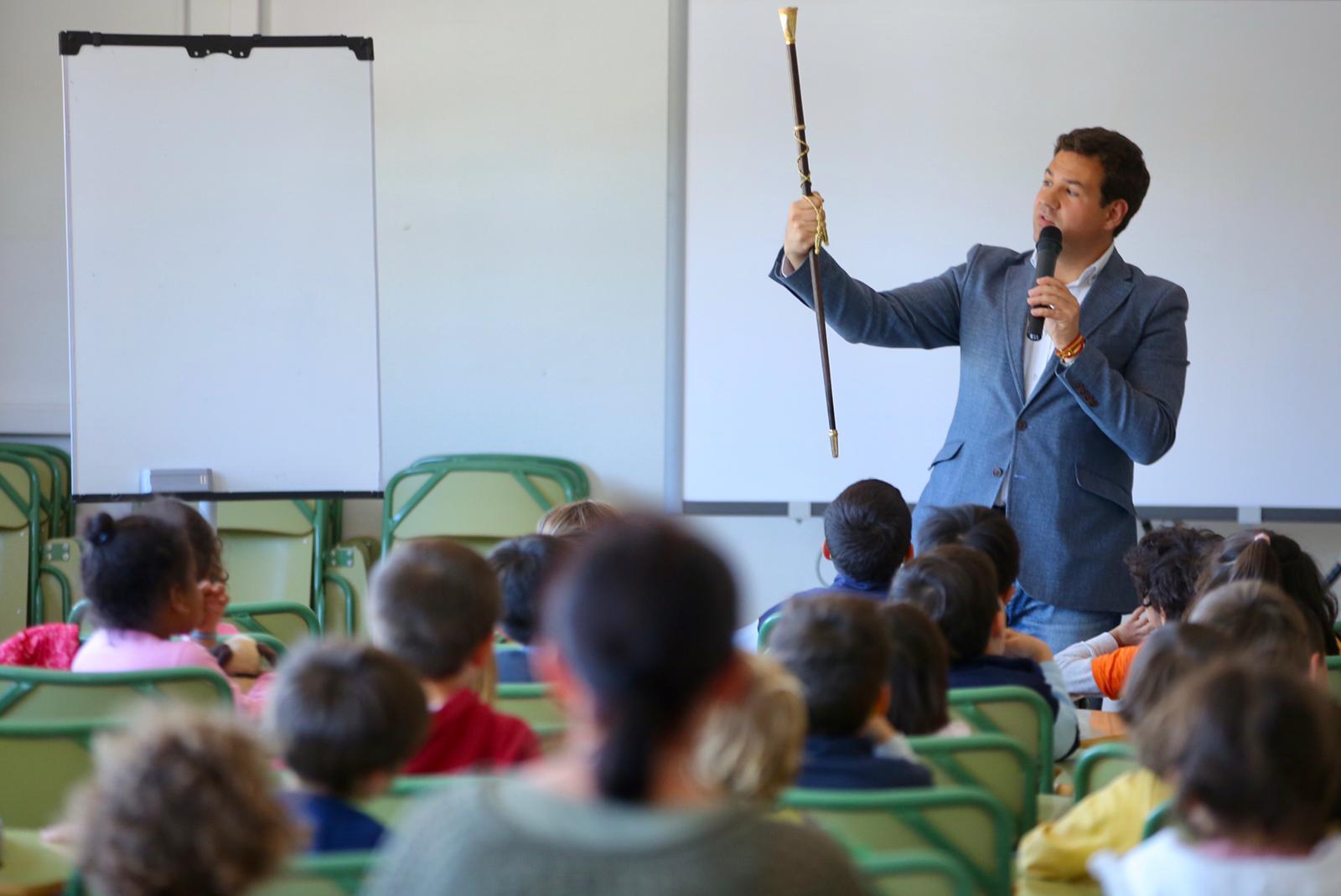 2019_03_26_El alcalde visita a Infantil 5 años_CEIP FDLR_Las Rozas
