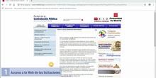 Presentación de ofertas por licitadores a través de licitación electrónica