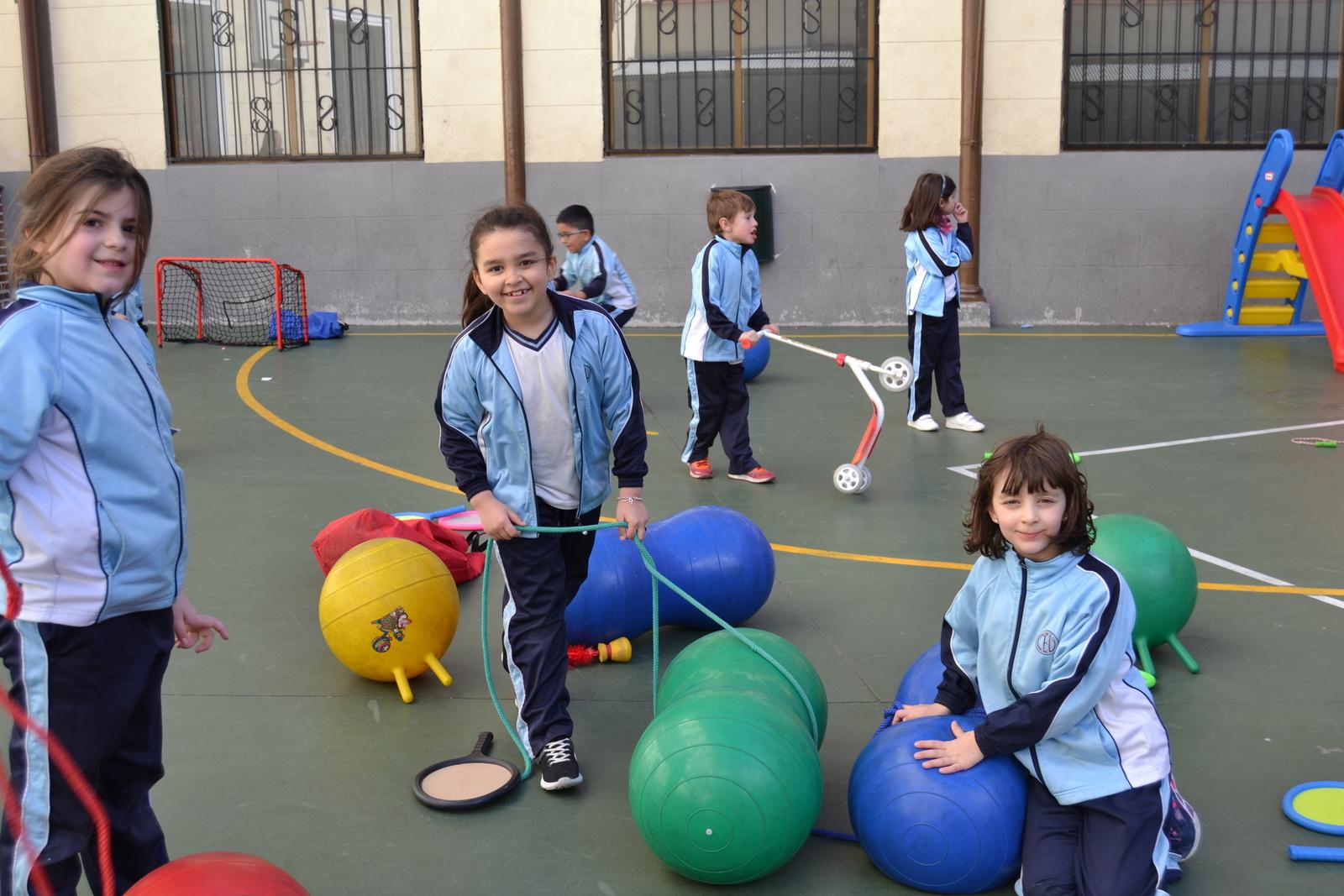 Jornadas Culturales y Deportivas 2018: JUEGOS 1º Y 2º EP 27
