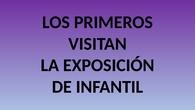 1º VISITA EXPOSICIÓN INFANTIL. CEIP PINOCHO 2017/18