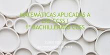 Matemáticas Aplicadas a CCSS I. IES Profesor Julio Pérez