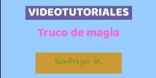 Videotutorial Rodrigo M.