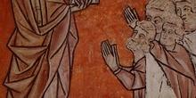Grabado de San Juan evangelista, Huesca