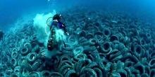 La contaminación por plásticos del mar