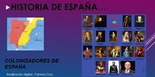 Colonizadores y  dinastías Españolas. 5º/6ª Primaria. Jarama de Rivas.