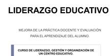 LIDERAZGO EDUCATIVO.