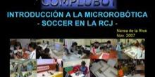 Seminario de Introducción a la Microrobótica - Robots de SOCCER en la RoboCup Junior