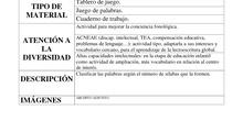 Clasificación por número de sílabas