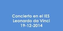 Concierto en el IES Leonardo da Vinci