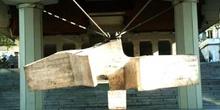 Escultura en el Museo de Escultura al Aire Libre, Madrid