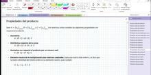 2Bto - 01 - Matrices - 08 - Propiedades del producto de matrices