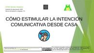 Estimular la Intención Comunicativa en Casa