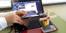 Molinillo simple con Lego WeDo