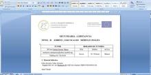 Presentación Nivel II Distancia Inglés