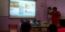Stemxion II (v. ancha) en #cervanbot III (contenido grabado por alumnos)