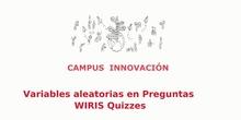 Para Saber Más. PREGUNTAS ALEATORIAS CON WIRIS QUIZZES