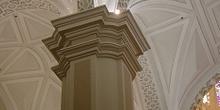 Columna y techumbre