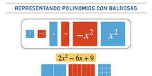 Representando polinomios con baldosas