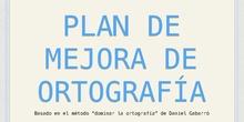 Plan de Mejora de Ortografía