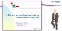 ¿Qué son los materiales didácticos?