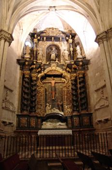 Retablo de la Catedral de Burgo de Osma, Soria, Castilla y León