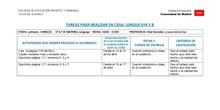 TABLAS SEMANALES 14-17 ABRIL